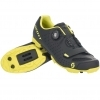 SHOE MTB COMP BOA matt black/sulphur yellow