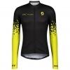 SHIRT MŚ RC TEAM 10 L/SL black/sulphur yellow