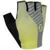 GLOVE ASPECT GEL SF sulphur yellow/light grey