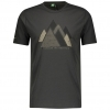 SHIRT MŚ DEFINED DRI GRAPHIC S/SL dark grey