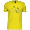 SHIRT MŚ DEFINED DRI GRAPHIC S/SL sulphur yellow
