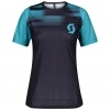SHIRT WŚ TRAIL VERTIC PRO dark purple/breeze blue